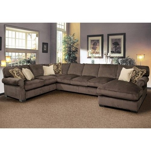 Grand Island Large, 7 Seat Sectional Sofa With Right Side Chaise Throughout Layaway Sectional Sofas (View 6 of 10)