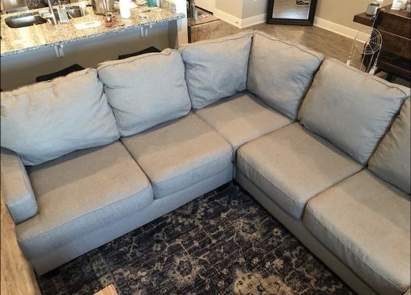 Gray Sectional Couch With Chaise  Like New! (Furniture) In Panama In Panama City Fl Sectional Sofas (Image 7 of 10)