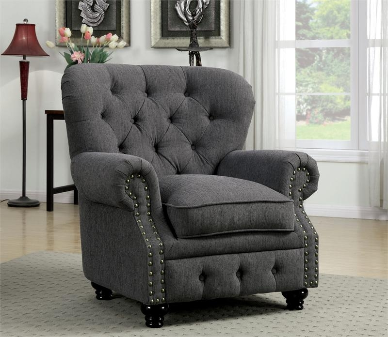 Gray Sofa Furniture | Okaycreations Regarding Grey Sofa Chairs (Image 3 of 10)