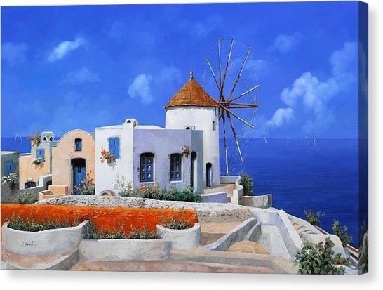 Greece Canvas Prints | Fine Art America In Greece Canvas Wall Art (Photo 17 of 20)