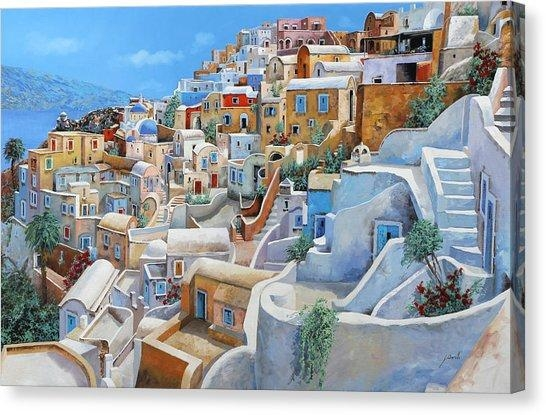 Greece Canvas Prints | Fine Art America Within Greece Canvas Wall Art (Photo 9 of 20)