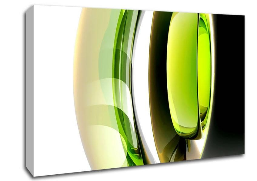 Green Wall Art And Wall Decor | Wallartdirect.co.uk Within Lime Green Abstract Wall Art (Photo 4 of 20)