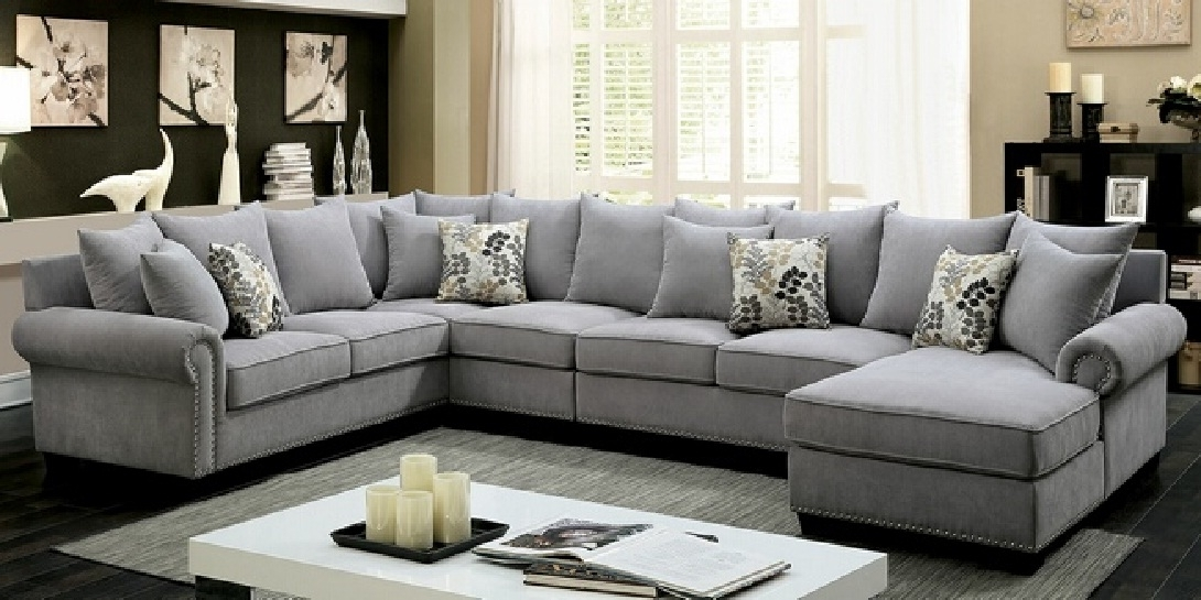 10 Ideas Of Sectional Sofas With Nailhead Trim Sofa Ideas
