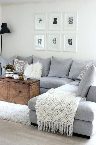 Grey Sectional With Chaise – Gerardoruizdosal Throughout Light Grey Sectional Sofas (Image 6 of 10)