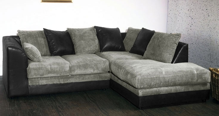 Grey Sofas Cheap – Home Design Ideas And Pictures Throughout Cheap Black Sofas (View 5 of 10)