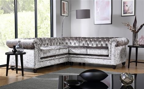 Hampton Chesterfield Ivory Leather Corner Sofa Only £ (Image 3 of 10)