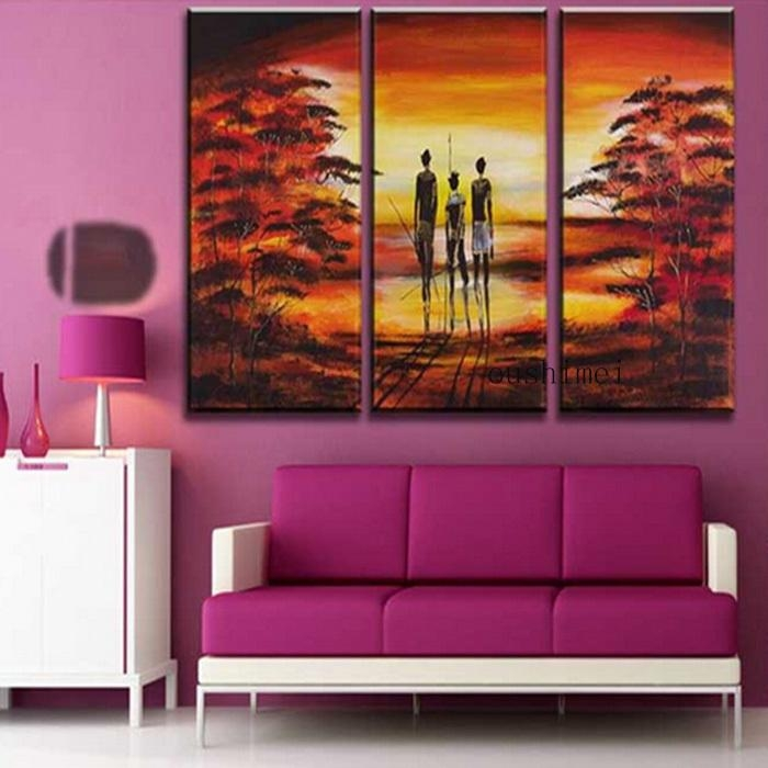 20 best ideas india abstract wall art wall art ideas for Landscape paintings for living room