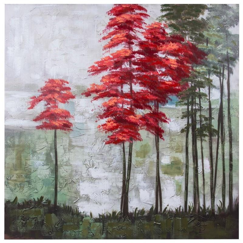 Handpaint Forest 100 X 100 X 3 Cm | Wall Art | Jysk Canada With Jysk Canvas Wall Art (Image 10 of 20)