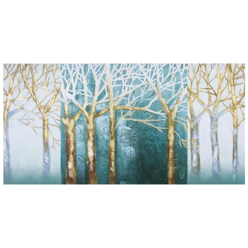 Handpaint Tree | Wall Art | Jysk Canada Throughout Jysk Canvas Wall Art (Image 11 of 20)