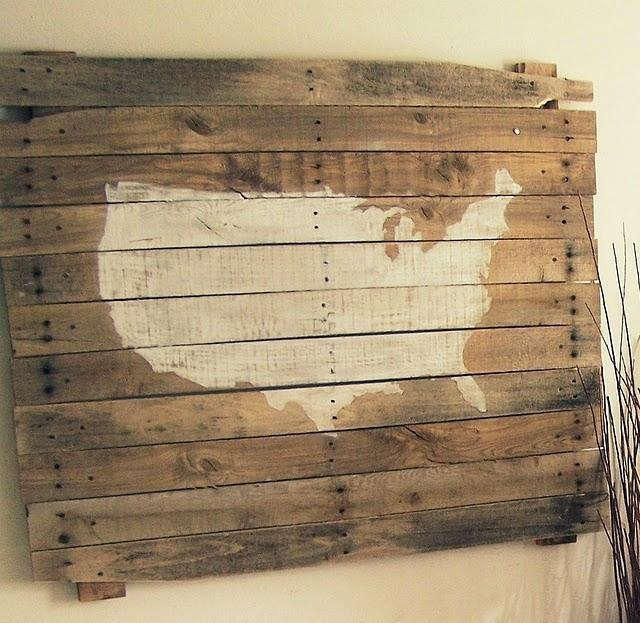 Hanging Boards On Walls For Unique Decor | Rustic Crafts & Chic Decor In Rustic Canvas Wall Art (Image 12 of 20)