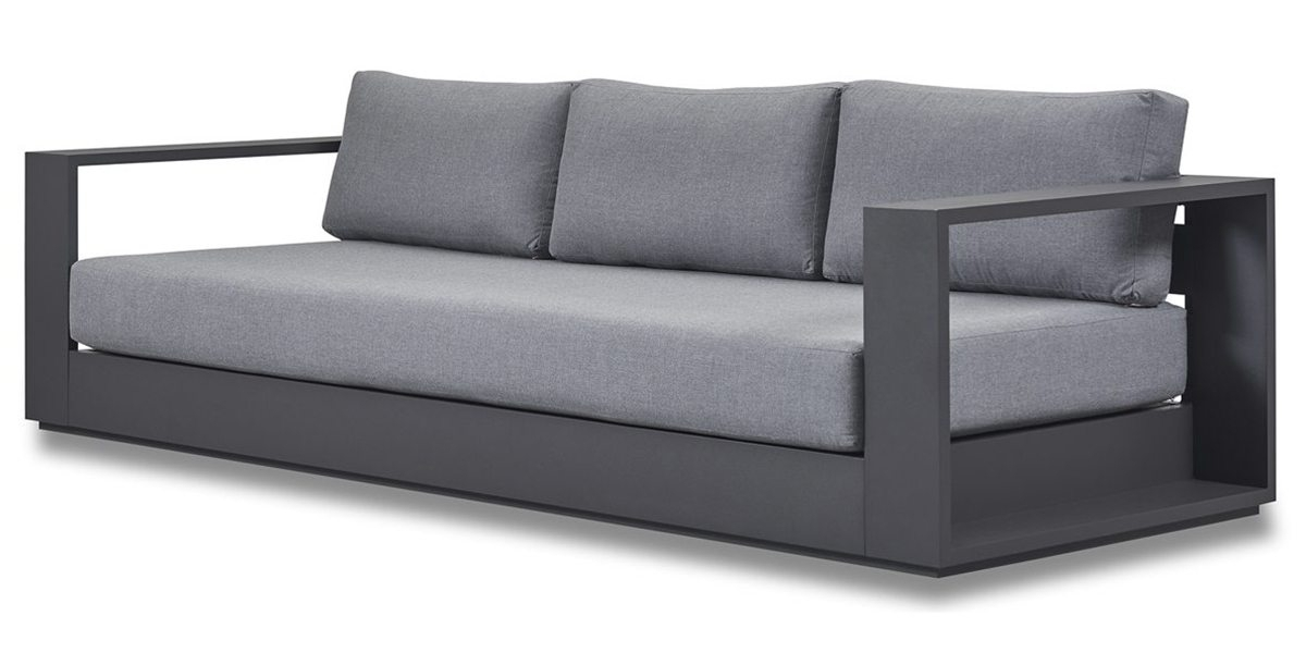 Hayman 3 Seat Sofa – Harbour Outdoor With Trinidad And Tobago Sectional Sofas (Image 7 of 10)