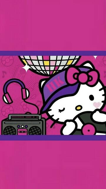 Hello Kitty | Wallpaperme | Pinterest | Hello Kitty, Kitty And Regarding Hello Kitty Canvas Wall Art (Image 9 of 20)