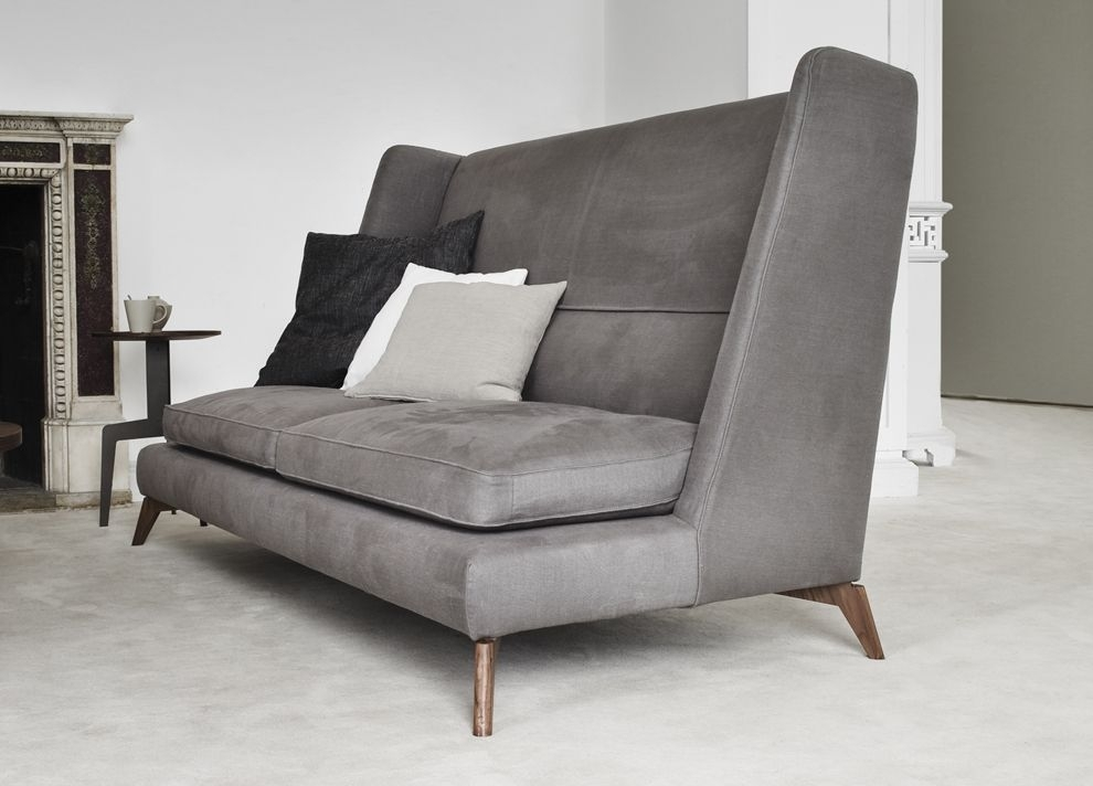 High Back Sofa. | Sofa | Pinterest | Office Sofa, Interiors And Throughout Sectional Sofas With High Backs (Photo 8 of 10)