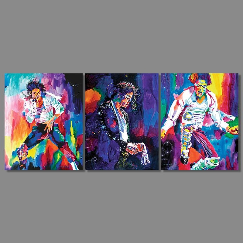 High Quality Michael Jackson Canvas Paintings Buy Cheap Michael Inside Michael Jackson Canvas Wall Art (View 20 of 20)