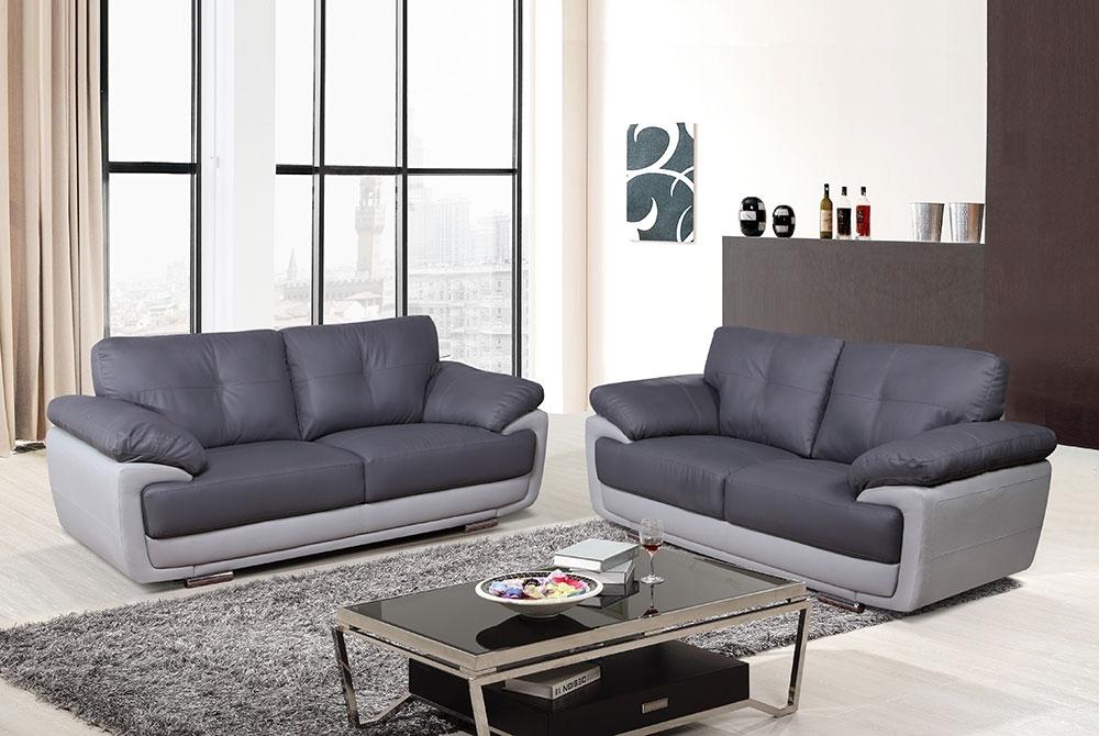 Hilton 32 Seater Sofa – Two Tone Grey – We Do Sofas In Two Tone Sofas (Photo 2 of 10)