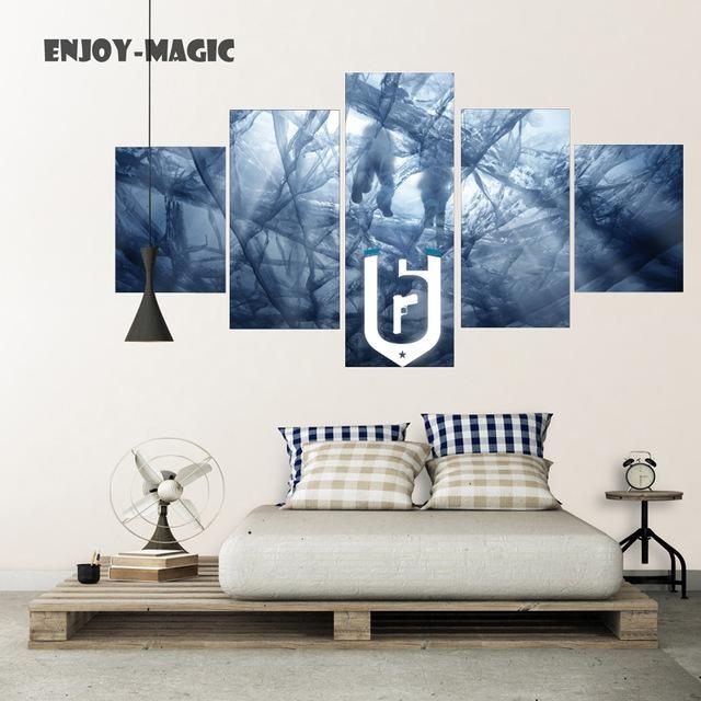 Rainbow Six Siege Poster Print Wall Decor