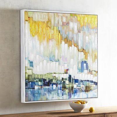 Horizon Abstract Art Within Abstract Horizon Wall Art (Image 9 of 20)