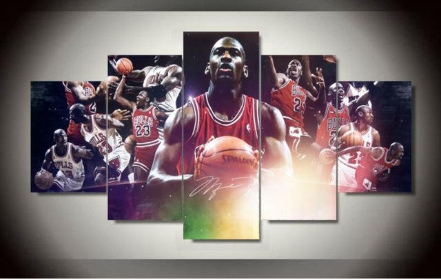 Featured Image of Michael Jordan Canvas Wall Art