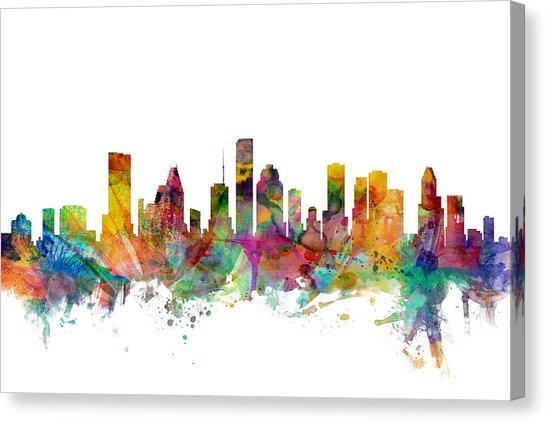 Houston Canvas Prints | Fine Art America Regarding Houston Canvas Wall Art (Photo 5 of 20)