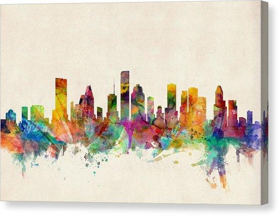 Houston Texas Canvas Prints | Fine Art America With Regard To Houston Canvas Wall Art (Image 16 of 20)
