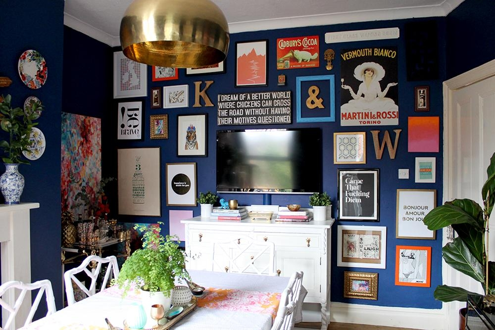 How To Create A Wall Art Gallery? – House Of Fraser Blog In House Of Fraser Canvas Wall Art (Image 12 of 20)