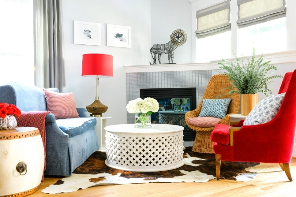 How To Decorate With Mismatched Furniture | Hgtv For Colorful Sofas And Chairs (Image 6 of 10)