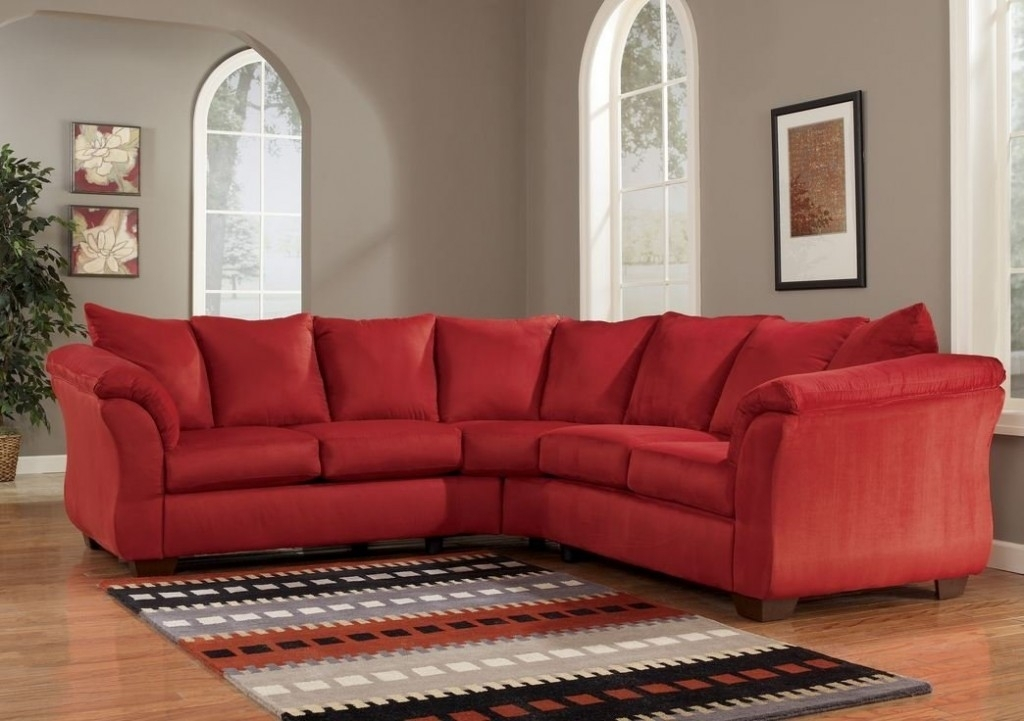 How To Decorate Your Room Using Red Sectional – Elites Home Decor Pertaining To Red Sectional Sofas (Image 7 of 10)