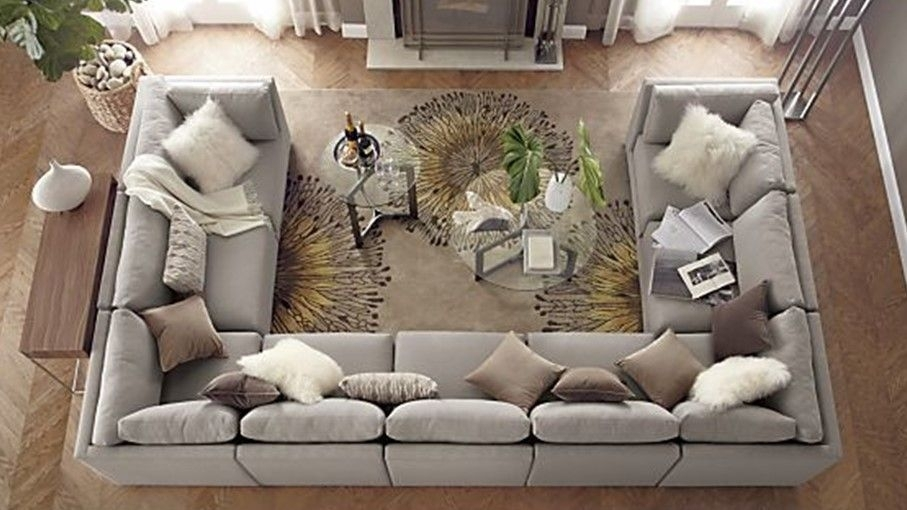 Featured Image of Big U Shaped Sectionals