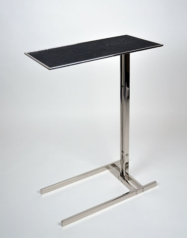 Hudson Drink Table : Dennis Miller Associates Fine Contemporary With Regard To Sofas With Drink Tables (Image 3 of 10)