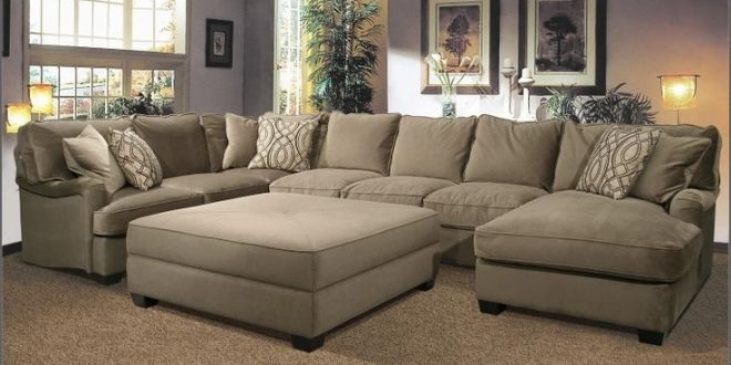 Huge Sectional Sofas – Home And Textiles With Big U Shaped Sectionals (Image 4 of 10)