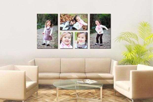 I Really Love This! And You Could Do A Portrait With The Whole In Groupings Canvas Wall Art (Image 11 of 20)