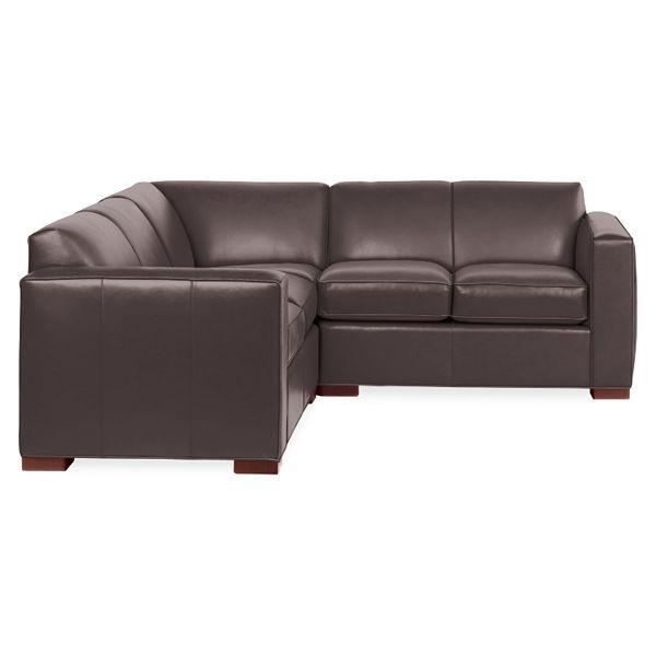 Ian Leather Sectionals | Leather Sectionals, Casual Living Rooms And Within 96X96 Sectional Sofas (View 5 of 10)