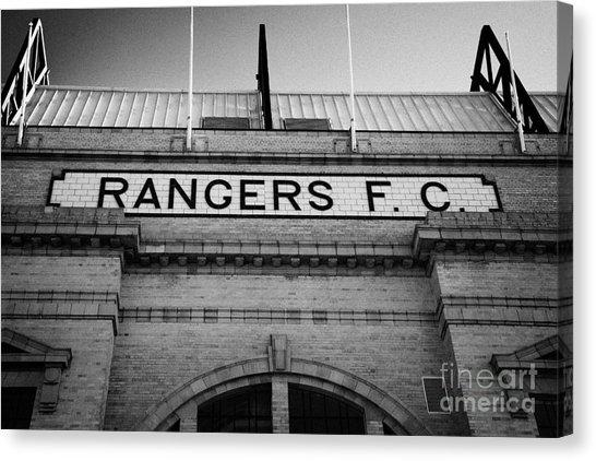 Ibrox Canvas Prints | Fine Art America Regarding Glasgow Canvas Wall Art (Image 11 of 20)