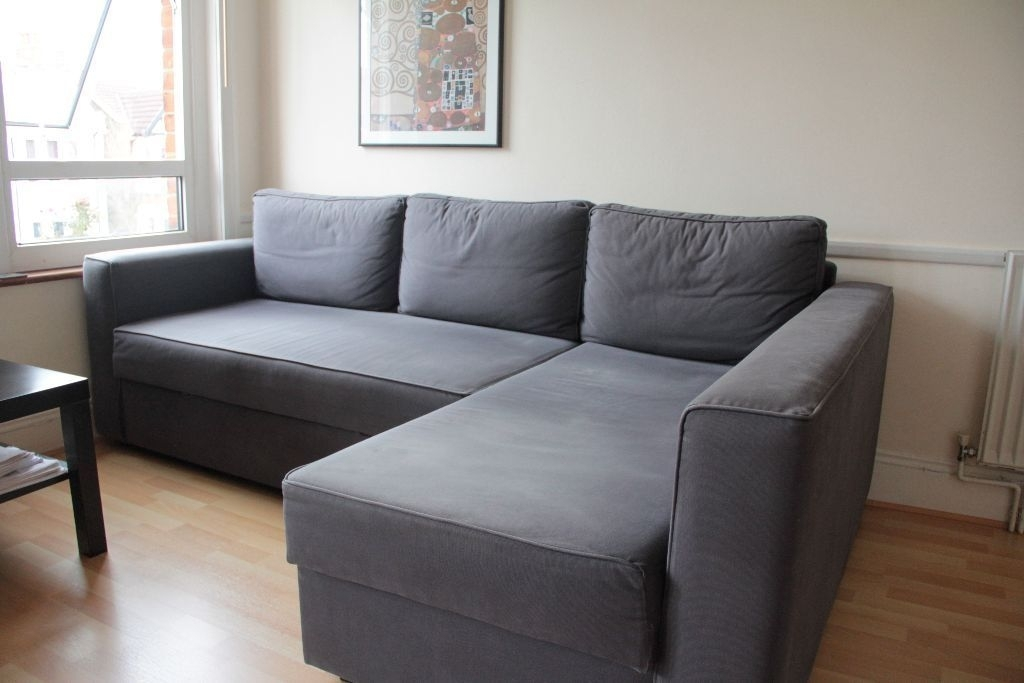 Ikea Manstad Corner Sofa Bed With Chaise Longue And Storage – Gobo In Ikea Corner Sofas With Storage (Image 9 of 10)