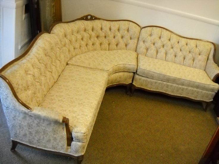 Impressive 94 Best Sofa So Good Images On Pinterest French Antique Regarding Vintage Sectional Sofas (Image 5 of 10)