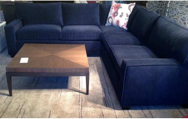 Impressive Navy Blue Sectional Sofa Sofas In Modern Excellent West With Regard To Blue Sectional Sofas (Image 4 of 10)