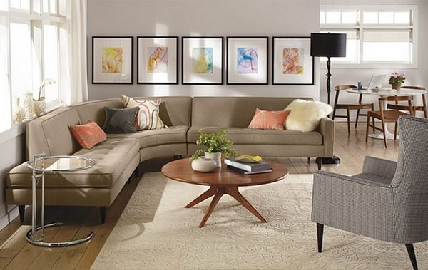 Impressive Sectional Sofa Decorating Ideas Features Home Decoration Throughout Sectional Sofas Decorating (Photo 8 of 10)