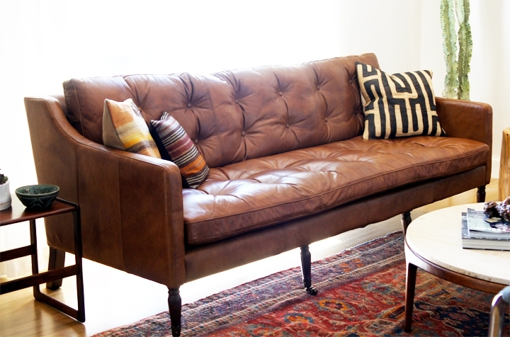 Impressive Tan Leather Sofas Home And Textiles Light Brown Sofa Inside Light Tan Leather Sofas (Image 4 of 10)