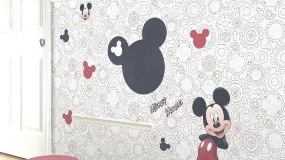 Innovation Design Mickey Mouse Wall Art Or Decal Quotes Inside Mickey Mouse Canvas Wall Art (Image 10 of 20)