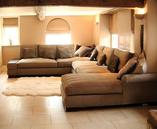 Inspirational Extra Large Sectional Sofas With Chaise 79 For Stylish In Extra Large Sofas (Photo 7 of 10)