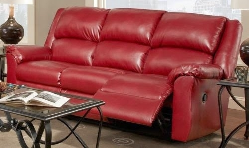Inspiring Leather Reclining Sofa And Loveseat The Best Reclining In Red Leather Couches And Loveseats (Image 6 of 10)