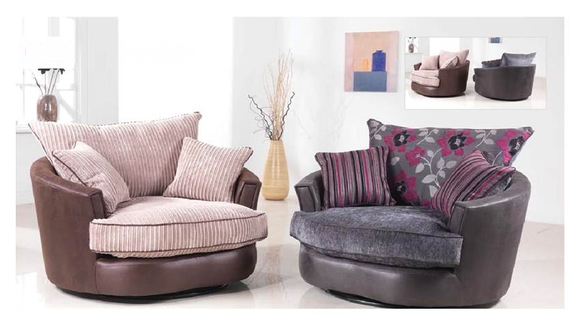 Inspiring Swivel Sofa Chair Recliners And Swivels Discount Sofa In Swivel Sofa Chairs (Image 7 of 10)