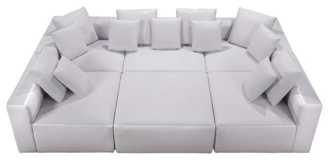 Interesting Contemporary Sectional Sofas With Modular Miami Bonded Regarding Miami Sectional Sofas (Image 1 of 10)