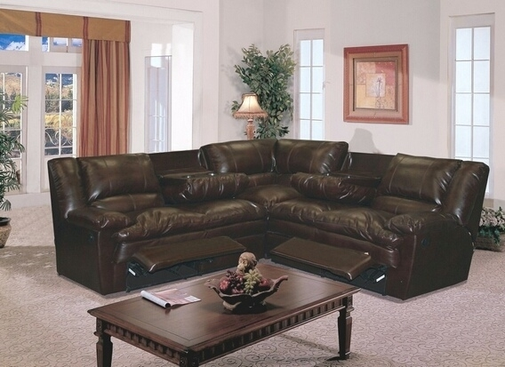 Interesting Sectional With Recliner Leather Sofa Within Sofas With Regard To Sectional Sofas With Recliners For Small Spaces (Image 4 of 10)