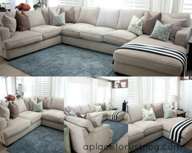Interior Design For Feather Down Sectional Couches Cool Sofa With With Down Sectional Sofas (Photo 10 of 10)