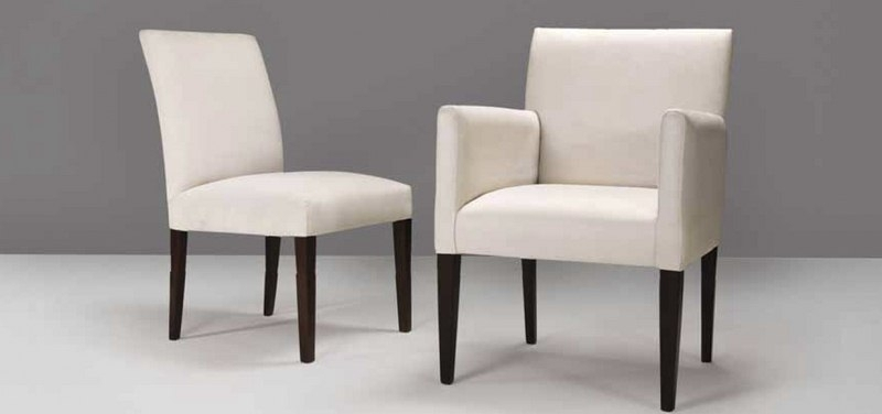 Interior Design Marbella | Modern Bespoke Covered Dining Chairs Pertaining To Dining Sofa Chairs (Image 7 of 10)