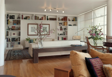 Interiors I Love // Console Tables Behind Sofas | Console Tables Within Sofas With Consoles (Photo 8 of 10)