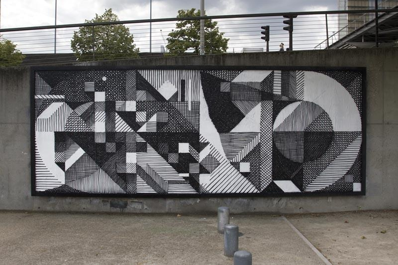 Interview With French Abstract Graffiti Artist Nelio For Abstract Graffiti Wall Art (Image 12 of 20)