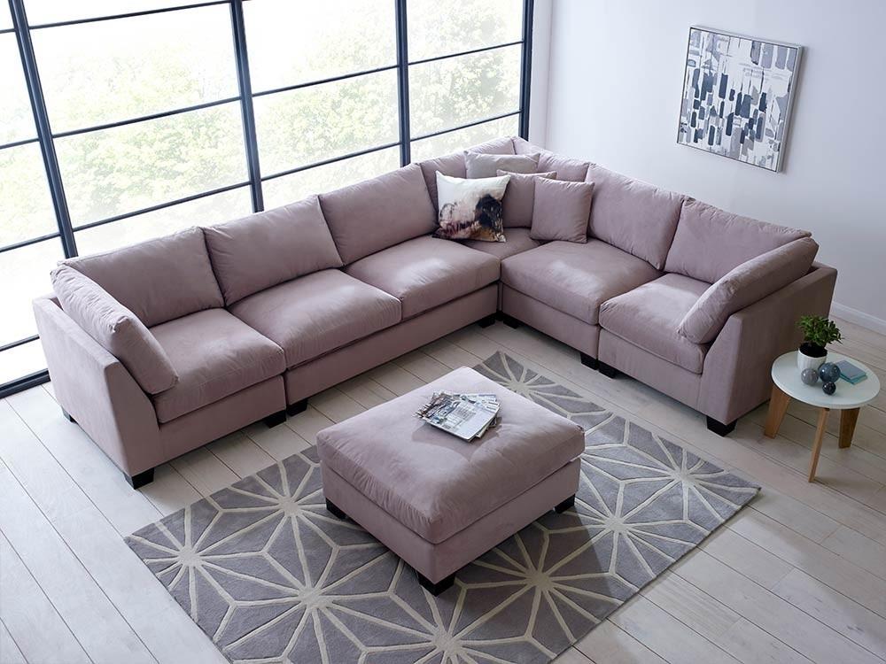 Isabelle Sectional Sofa Set – Corner Sofa | Living It Up For Modular Corner Sofas (Image 3 of 10)