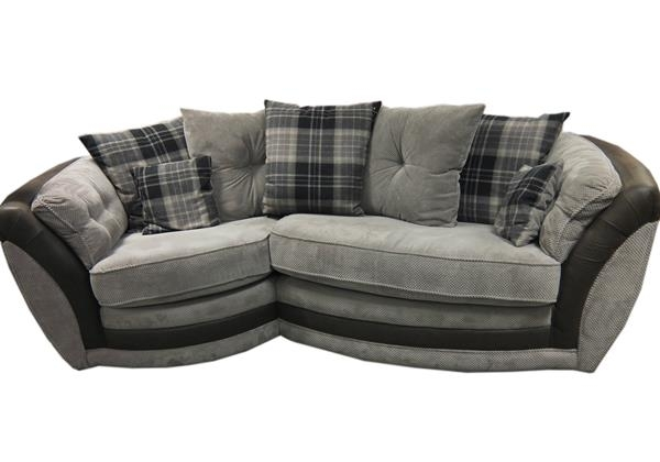 Isla Snuggle Sofa – Brodie Mink | Trago Mills Throughout Snuggle Sofas (Image 5 of 10)